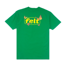 FELT BUTTERFLY TEE KELLY GREEN