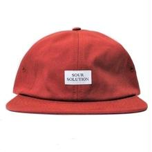 SOUR SOLUTION FALLON CAP  RED