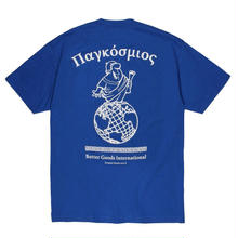 BUTTER GOODS HELLENIC TEE, ROYAL BLUE