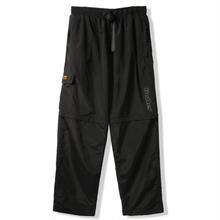 BUTTER GOODS ATS ZIP OFF PANTS  BLACK