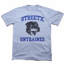 STREET X UNTRAINED  TEE     GREY
