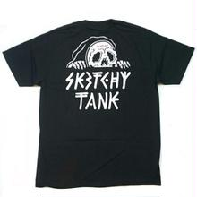 SKATCHY TANK   LURKER POCKET  TEE    BLACK