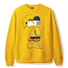 BUTTER GOODS LO GOOSE CHAMPION CREWNECK- GOLD
