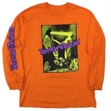 BOW3RY   TV L/S TEE   ORANGE