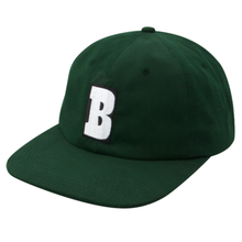 BAKER SKATEBOARDS STRAPBACK CAPITAL B     F,GREEN