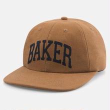 BAKER SKATEBOARDS LAKELAND STRAPBACK  BROWN
