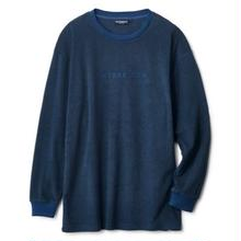 INTERBREED PILE LOGO L/S TEE   NAVY