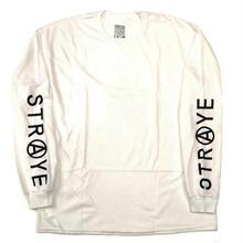 STRAYE TRAP L/S TEE  WHITE
