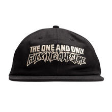 FUCKING AWESOME ONE&ONLY HAT BLACK