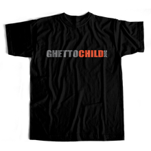 GHETTO CHILD     OG USA  TEE          BLACK