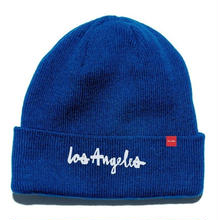 CHOCOLATE LOS ANGELES BEANIE  R,BLUE