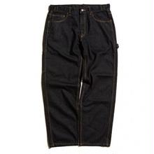 HELLRAZOR PLATINUM PAINTER DENIM PANTS BLACK