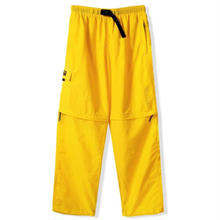 BUTTER GOODS ATS ZIP OFF PANTS    YELLOW