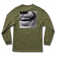 JHF GOLD GRIN L/S TEE   O,GREEN