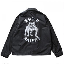 BORNXRAISED BOARDWALK SHARK COACH JACKET    BLACK