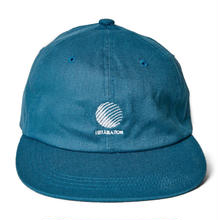 HELLRAZOR LOGO CANVAS 6PANEL-OLD BLUE