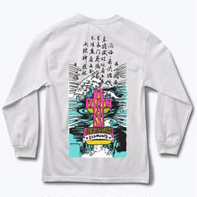 DIAMOND SUPPLY CO X DODTOWN A,MURRY L/S TEE  WHITE