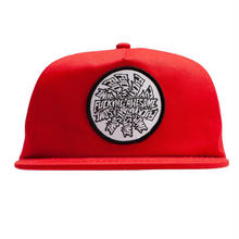 FUCKING AWESOME SPIRAL HAT RED