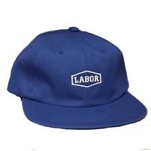 LABOR CREST LOGO CLOSURE CAP     ROYAL BLUE
