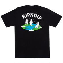 RIPNDIP FLAT TEE-BLACK