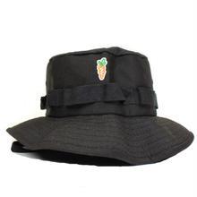 CARROTS PATCH BUCKET HAT BLACK