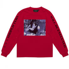WASTED PARIS SHOPLIFETERS L/S TEE  ROUGE