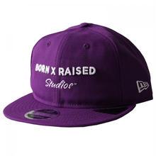 BORN X RAISED STUDIOS DAD HAT-PURPLE