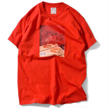 SAINTS & SINNERS ROMANTIC S/S TEE RED