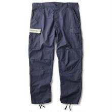 INTERBREED NIGHT WATCHMAN CARGO TROUSERS NAVY