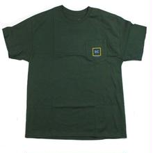 ILLEGAL CIVILIZATION CIVCORP FRST POCKET TEE  GREEN