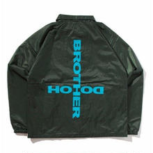 BROTHER HOOD CULT COACH JACKET D,GREEN