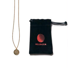 HELLRAZOR NEXT DIMENTION NECKLACE-GOLD