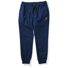LAFAYETTE COTTON STRETCH JOGGER PANT NAVY