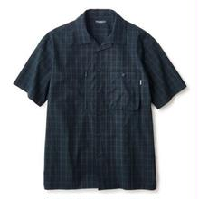 INTERBREED PATTERNED PAJAMA SHIRT BLACK WATCH