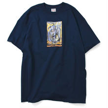 SAINTS&SINNERS KING KNIGT TEE-NAVY