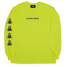NOTHING SPECIAL SUBTERRANEANS L/S TEE N,YELLOW