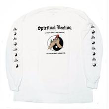 JUNGLES SPIRITUAL HEALING L/S TEE  WHITE