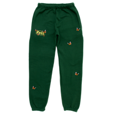 FELT BUTTERFLY SWEATPANT GREEN
