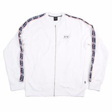 STREET X ATHLETIC TAPED JACKET     WHITE