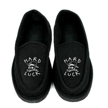 HARD LUCK HOUSE SLIPPER  BLACK