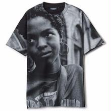 INTERBREED L.BOOGIE ALL-OVER SS TEE   BLACK