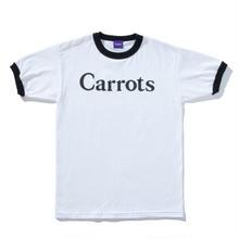 CARROTS RINGER TEE WHITE