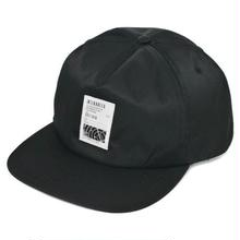 INTERBREED RADER PATCHED NYLON CAP BLACK