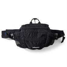 LAFAYETTE SMALL LOGO SPORT HIP BAG  BLACK