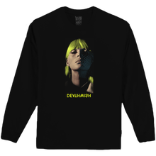 DEATH WISH HEROINE   L/S TEE     BLACK