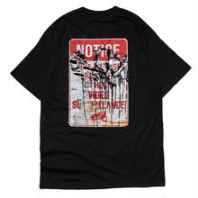 HELLRAZOR X RUST SURVEILLANCE TEE-BLACK