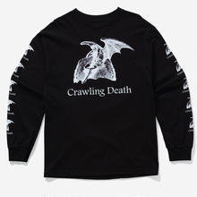CRAWLING DEATH  LUCIFER L/S TEE    BLACK