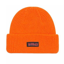 DEATH WISH CUFF BEANIE    ORENGE
