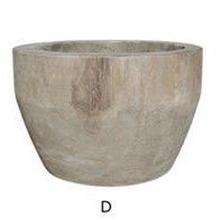 塊根植物や多肉植物、大型の観葉植物に。天然木を繰り抜いた植木鉢 D