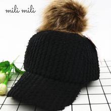 【予約】ファー付き帽子